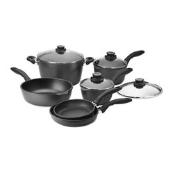 Swiss Diamond Nonstick 10-Piece Cookware Set
