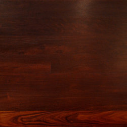 Katalox Solid Exotic Hardwood Flooring - Also known as Mexican Royal Ebony, this dark wood is a suitable substitute for true ebony. The rich chocolate to purple/black colors provide an opulent, modern look to any room where it's used.