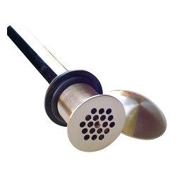 """Artesano Copper Sinks - 1.5"""" Strainer with Dome Copper Sink Drain - 1.5"""" Strainer with Dome Copper Sink Drain"""