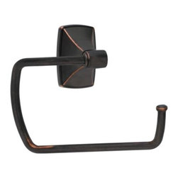 Amerock - Amerock Clarendon Oil Rubbed Bronze Bath Towel Ring - Update your bathroom with this quality Amerock towel ring, featuring an oil rubbed bronze finish. The sophisticated Clarendon towel ring adds to any home's decor.