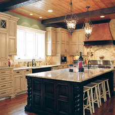 Contemporary Kitchen Cabinets by Dixon Custom Cabinetry
