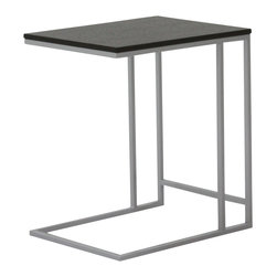 Moe's Home Collection - Moe's Home Practico End Table in Black - Minimalist, versatile design