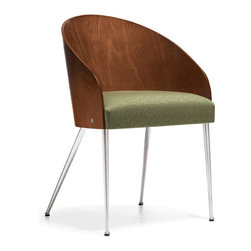 Marche by Global - Marche Side Chair - Wood Back