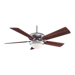 "Minka Aire - Minka Aire F569-BS/DW Supra Brushed Steel 52"" Ceiling Fan + Remote Control - Features:"