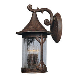 "Designers Fountain - Designers Fountain 20931-CHN 4 Light 11"" Cast Aluminum Wall Lantern from the Can - Features:"