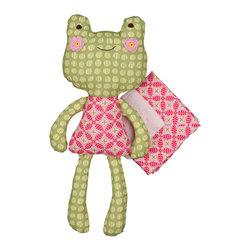 Lolli Living - Sofia Frog Softie with Blankie - Sofia Frog Softie with Blankie