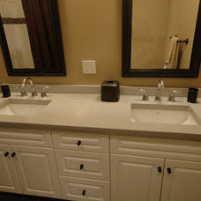 Bathroom Countertops by Concrete Lifestyles