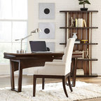 WorkSpace and Home Office | Smart Furniture - Create an inspiring home office with this modern and scultural desk.
