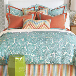 Eastern Accents - Capri Bedset - Stay in style and escape to a heavenly resort in your own home. Bright and punchy, Capri is reminiscent of relaxing days by the seaside