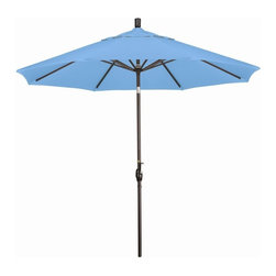 Phat Tommy - 9 Ft. Market Patio Umbrella in Capri - The Phat Tommy umbrella is part of our Outdoor Oasis Line. This will ensure your umbrella stays looking brand new, season after season.