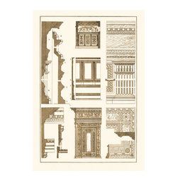 Buyenlarge - Wall-Facing with Wood-Paneling 12x18 Giclee on canvas - Series: Renaissance