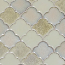 Mosaic Ideas for any space - MO-SFSM Small Scalloped Fan C604, C608, C609