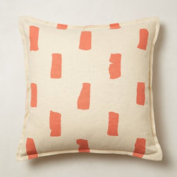 Dakota Pillow, Coral - I love this beautiful down pillow. It features a more sophisticated hue of pink.