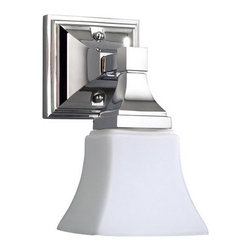 Mirabelle - Mirabelle MIRCO1LGT Cordoba Single-Light Bathroom Wall Sconce - Product Features: