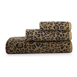 Bay Linens Animal Print Bath Towels, Leopard - Make overnight guests feel extra special with these luxurious leopard print towels that are soft to the touch.