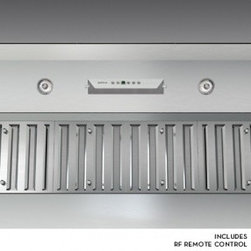 """Zephyr - Monsoon II Series AK9334AS 36"""" Cabinet Insert One Piece Liner with 1200 CFM Inte - Monsoon II comes packed with more features and technology that you can expect from a high quality and high performing one-piece liner It features a powerful 1200 CFM internal blower and 6 speed electronic controls for convenient operation Additionall..."""