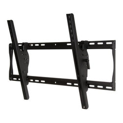 "Peerless - Peerless 32""-50"" Tilt Wall Mount Black - The ST650 is indispensible when it comes to screen placement flexibility. It features open wall plate architecture that delivers increased electrical access and cable management options. Its exclusive pre-tensioned universal tilt screen adapters deliver th Universal mount fits screens with mounting patterns up to 29.5"" W x 17.67"" H