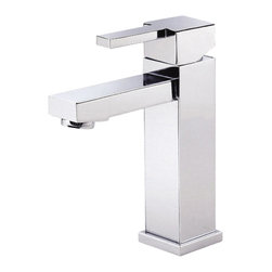 """Danze - Danze D225533 Chrome Single Handle 4"""" Center Faucet - Danze D225533 Chrome Single Handle Lavatory Faucet is part of the Reef Bath collection.  D225533 Single hole 4"""" centerset installation has a 5 1/4"""" high spout, with laminar flow.  D225533 Includes metal touch down drain assembly.  D225533 Single lever handle meets all requirements of ADA.  California and Vermont compliant.  WaterSense Certified."""