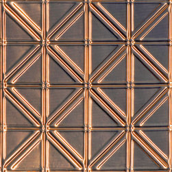 Decorative Ceiling Tiles - Jazz Age - Copper Ceiling Tile - #0606 - Find copper, tin, aluminum and more styles of real metal ceiling tiles at affordable prices . We carry a huge selection and are always adding new style to our inventory.