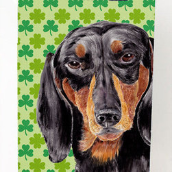 Caroline's Treasures - Dachshund Shamrock Portrait Michelob Ultra Koozies for slim cans - Dachshund St. Patrick's Day Shamrock Portrait Michelob Ultra Koozies for slim cans SC9283MUK Fits 12 oz. slim cans for Michelob Ultra, Starbucks Refreshers, Heineken Light, Bud Lite Lime 12 oz., Dry Soda, Coors, Resin, Vitaminwater Energy, and Perrier Cans. Great collapsible koozie. Great to keep track of your beverage and add a bit of flair to a gathering. These are in full color artwork and washable in the washing machine. Design will not come off.