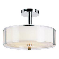 Trans Globe Lighting - Trans Globe Lighting 2091 PC Contemporary 5-Light Semi Flush Mount Ceiling Light - Trans Globe Lighting 2091 PC Contemporary 5-Light Semi Flush Mount Ceiling Light