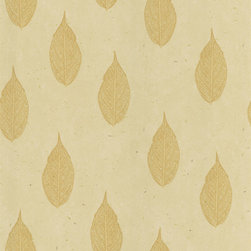 Brewster - Madhya Beige Leaves Wallpaper - Welcome a natural presence to your favorite setting with this appealing wallpaper. An irresistibly delicate leaf motif in soft beige tones brings subtle style to your decor.