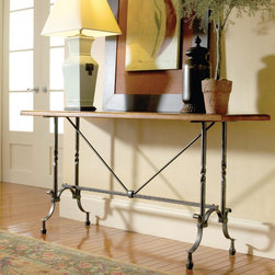Mateuse Console Table by Charleston Forge - Dimensions: