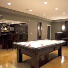 Contemporary Basement by Veranda Estate Homes & Interiors