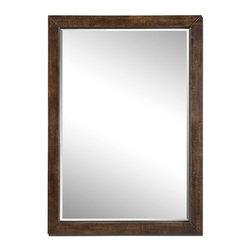 www.essentialsinside.com:  cesano rustic bronze mirror - Cesano Rustic Bronze Mirror by Uttermost, available at www.essentialsinside.com