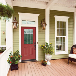 Ranch Half-Lite Entry Door - HomeStory