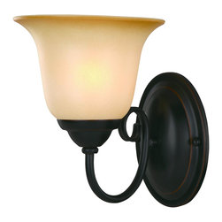 Hardware House - Essex Bronze Interior Lighting Collection, 1-Light Wall Sconce - Finish: Oil Rubbed Bronze