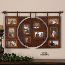 "13709 Bavai, Hanging Photo Collage by uttermost - Get 10% discount on your first order. Coupon code: ""houzz"". Order today."