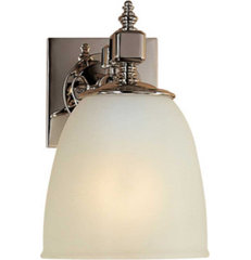wall lights > ESSEX SINGLE FORMAL SCONCE