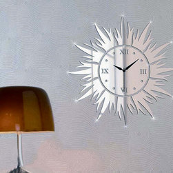 Top Quality Sun Wall Clock - Package Include: