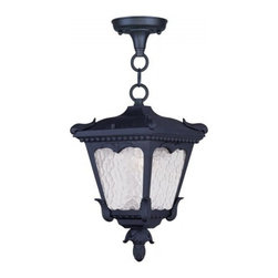 Lieverman and Assoc. - Livex - Lieverman and Assoc - Livex 7992-04 1-Light Hanging Lantern in Black - This 1 light Outdoor Hanging Lantern from the Millstone collection will enhance your home with a perfect mix of form and function.