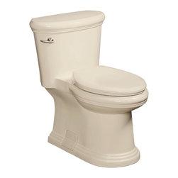 Danze - Danze Orrington 1 Piece High Efficiency Elongated Toilet, Biscuit (DC011323BC) - Danze DC011323BC Orrington 1 Piece High Efficiency Elongated Toilet, Biscuit