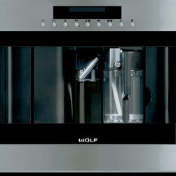 """Wolf 24"""" Coffee System EC24/S - Stainless - Wolf 24"""" Coffee System EC24/S - Stainless"""