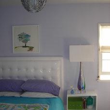 Eclectic Bedroom by Susan Deneau Interior Design