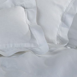 Yves Delorme Bastide All White Pillow Shams