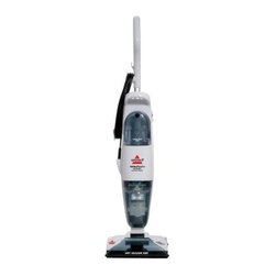 Bissell 2949 Total Floors Wet & Dry Vacuum - The Bissell 2949 Total Floors Wet & Dry Vacuum all-in-one tool is a lightweight and easy-to-use device that vacuums, mops, and leaves floors feeling looking and feeling dry. The state-of-the-art cleaner includes a gentle cleaning brush and soft pad that can be safely used on sealed hardwood floors as well as ceramic, granite, and marble tile. It's time to retire that mop bucket for good!About BissellMelville Bissell patented the BISSELL carpet sweeper in 1876, the company's first mechanical sweeper ever conceived. Shortly after, he built the first Bissell manufacturing plant in Michigan and began helping Americans and all of the world suck it up and tackle the confounding and unhealthy problem of dust-laden carpets and floors. A technology and trend innovator in the field of home cleaning solutions for over 100 years, Bissell remains committed to bringing you the most advanced, effective, and practical solutions for keeping your home clean.