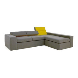 Nolen Niu - Nolen Niu | Mirror™ Sectional Sofa, Right - Design by Nolen Niu, 2006.