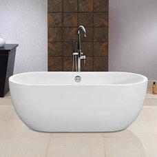 Modern Bathtubs Venice Free-Standing Bath