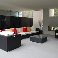 Modern Outdoor Sofas by LA Outdoor Furniture