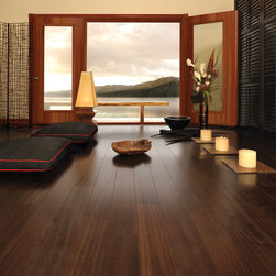Mirage Floors - Mirage Floors Exotic Collection African Mahogany Bronze