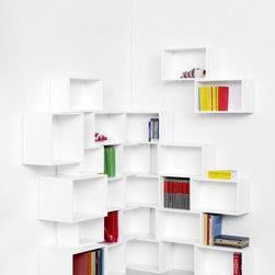 b cherregale modern g nstig kaufen bei houzz. Black Bedroom Furniture Sets. Home Design Ideas