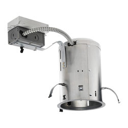 """Juno Lighting - PL513RE 5"""" Non-IC Remodel Housing - 13W Vertical CFL - Housing only. Trim and bulb sold separately."""