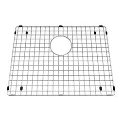 American Standard - Bottom Grid 20 inch x 15 inch Kitchen Sink Rack in Stainless Steel - American Standard 791565-208070A Bottom Grid 20 inch x 15 inch Kitchen Sink Rack in Stainless Steel. The American Standard 791565-208070A is a stainless steel bottom grid sink rack. The 791565-208070A stainless steel bottom grid sink rack is included with the 12SB.231800.073 single bowl and 12CR.361800.073 combination big and small bowl undermount kitchen sinks.  This grid rack helps to protect your sink bowl from scratches.  The bottom grid rack is both hygienic and dishwasher safe.American Standard 791565-208070A Bottom Grid 20 inch x 15 inch Kitchen Sink Rack in Stainless Steel, Features:Polished stainless steel