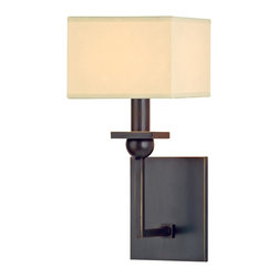 Hudson Valley - 5211-OB Morris Wall Sconce, Old Bronze - Modern Contempo Wall Sconce in Old Bronze from the Morris Collection by Hudson Valley.
