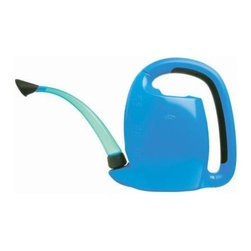 OXO Good Grips Mini Pour & Store Watering Can, Blue - The spout folds away for space-saving storage — smart!