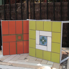 Eclectic Outdoor Side Tables by Potted